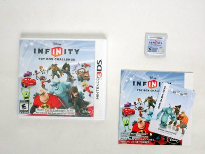 Disney Infinity Starter Pack game for Nintendo 3DS -Complete