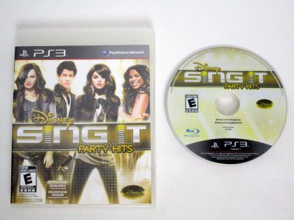 Disney Sing It: Party Hits game for Sony PlayStation 3 -Game & Case
