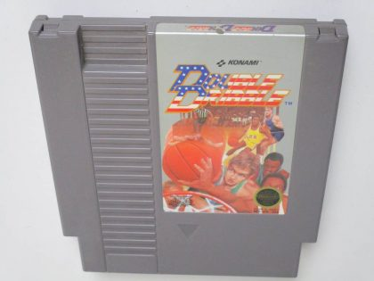 Double Dribble game for Nintendo NES -Loose