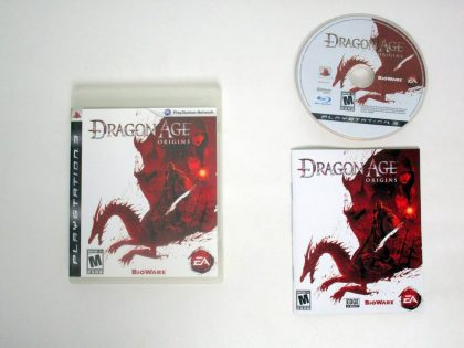 Dragon Age: Origins game for Sony PlayStation 3 -Complete