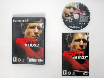 ESPN Hockey 2004 game for Sony PlayStation 2 -Complete