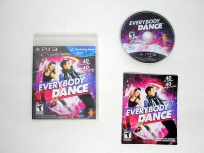 Everybody Dance game for Sony PlayStation 3 -Complete