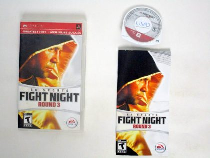 Fight Night Round 3 game for Sony PSP -Complete