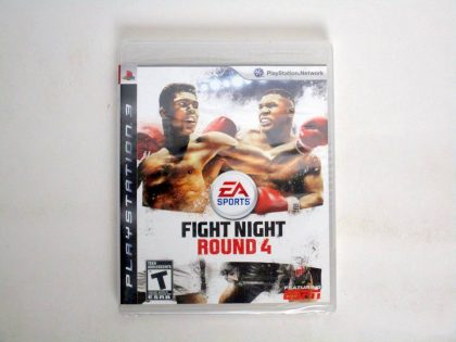 Fight Night Round 4 game for Sony PlayStation 3 -New
