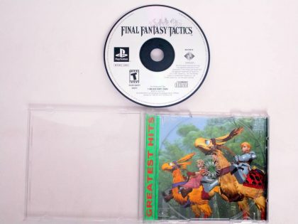 Final Fantasy Tactics game for Sony PlayStation 1 -Game & Case