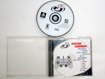 Formula One 2000 game for Sony PlayStation 1 -Game & Case