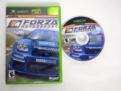 Forza Motorsport game for Microsoft Xbox -Game & Case