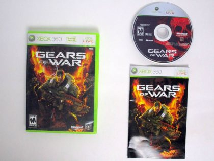 Gears of War game for Microsoft Xbox 360 -Complete
