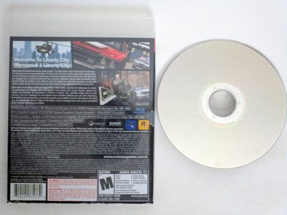Grand Theft Auto IV game for Sony PlayStation 3 | The Game Guy