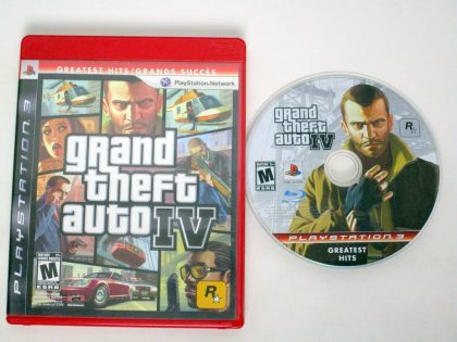 Grand Theft Auto IV game for Sony PlayStation 3 -Game & Case