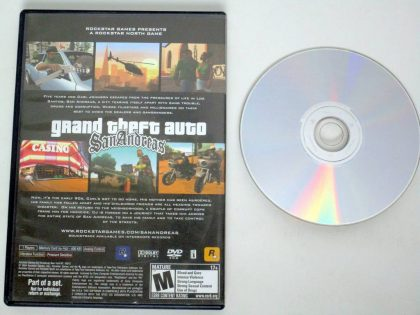 Grand Theft Auto San Andreas game for Sony PlayStation 2 | The Game Guy
