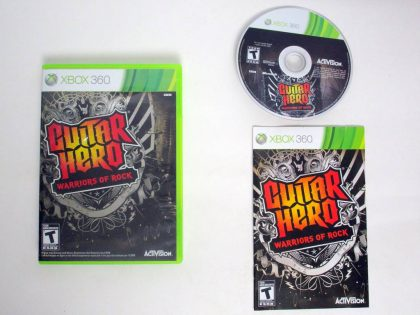 Guitar Hero: Warriors of Rock game for Microsoft Xbox 360 -Complete
