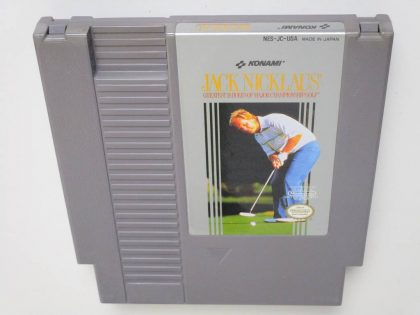 Jack Nicklaus Golf game for Nintendo NES -Loose