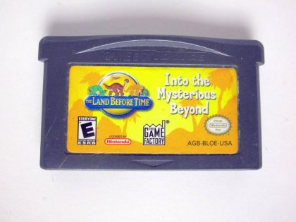 Land Before Time Into the Mysterious Beyond game for Nintendo Game Boy Advance -Loose