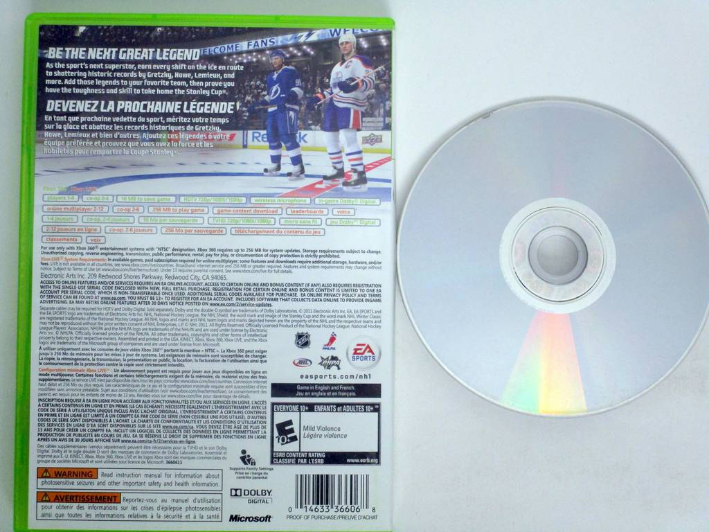 NHL 12 game for Microsoft Xbox 360 | The Game Guy