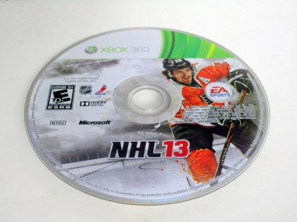 NHL 13 game for Microsoft Xbox 360 -Loose
