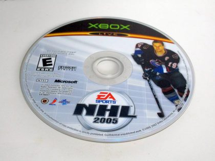 NHL 2005 game for Microsoft Xbox -Loose