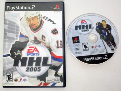 NHL 2005 game for Sony PlayStation 2 -Game & Case