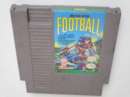 Play Action Football game for Nintendo NES -Loose
