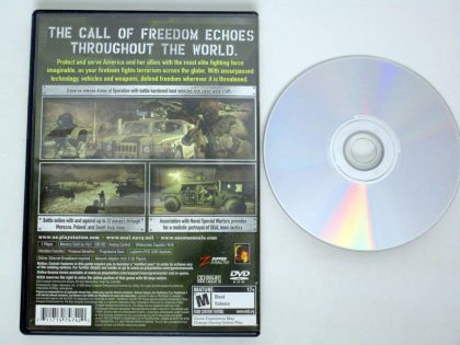 SOCOM III US Navy Seals game for Sony PlayStation 2 | The Game Guy