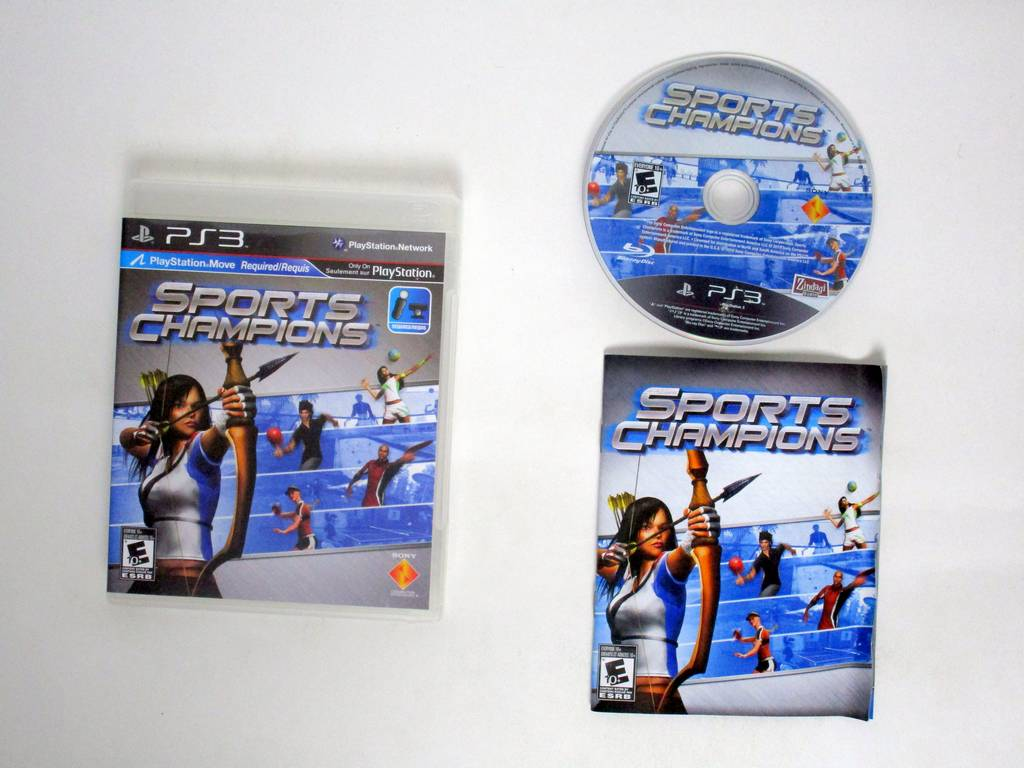 Sports Champions game for Sony PlayStation 3 -Complete