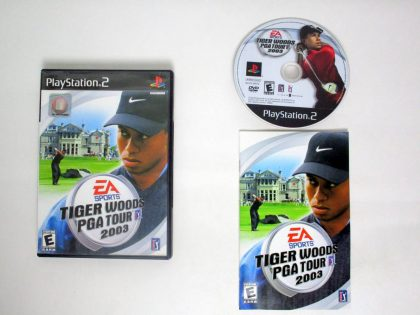 Tiger Woods 2003 game for Sony PlayStation 2 -Complete