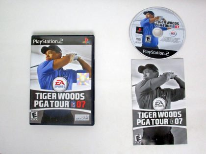 Tiger Woods 2007 game for Sony PlayStation 2 -Complete