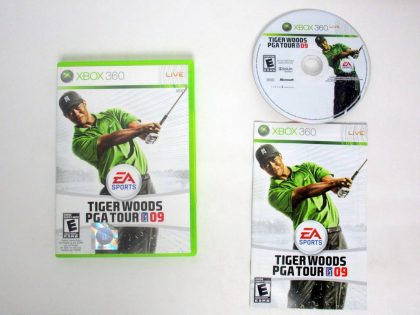 Tiger Woods 2009 game for Microsoft Xbox 360 -Complete