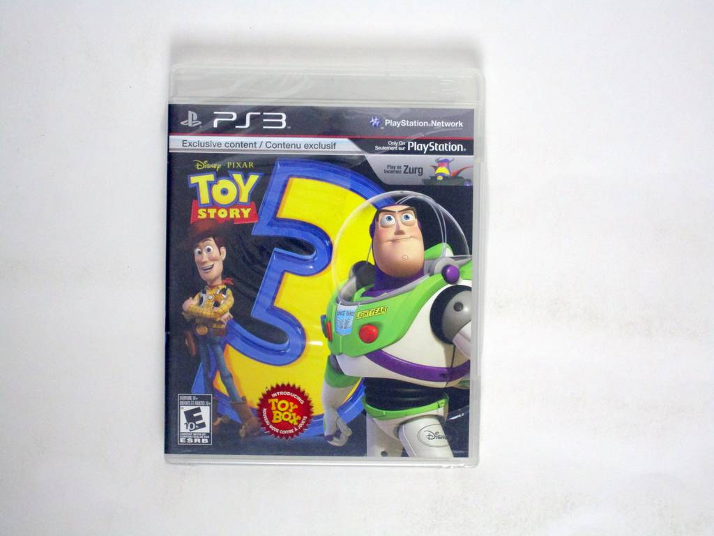 Toy Story 3: The Video Game game for Sony PlayStation 3 -Complete