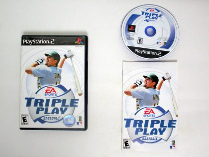 Triple Play Baseball game for Sony PlayStation 2 -Complete
