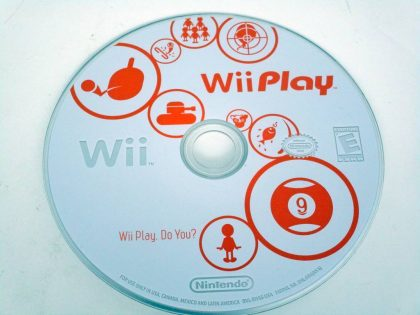Wii Play (Game only) game for Nintendo Wii -Loose