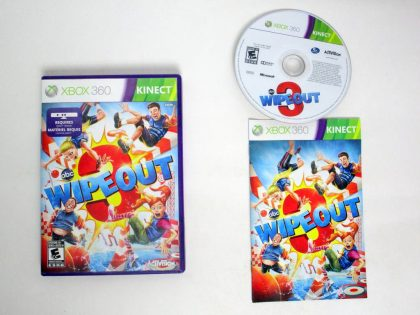 Wipeout 3 game for Microsoft Xbox 360 -Complete
