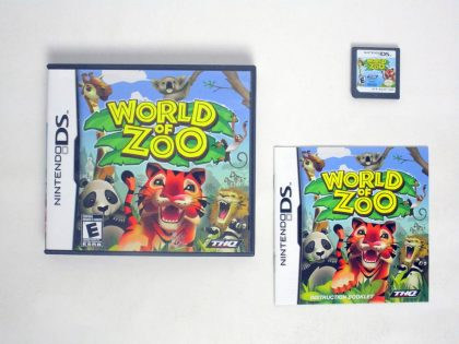 World of Zoo game for Nintendo DS -Complete