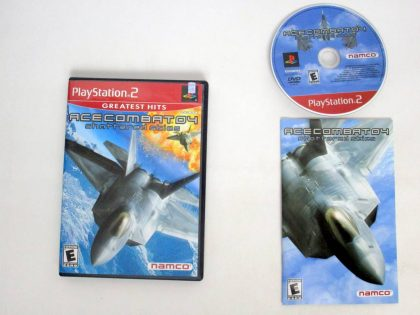 Ace Combat 4 game for Sony PlayStation 2 -Complete