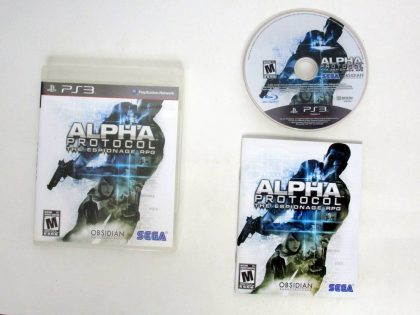 Alpha Protocol game for Sony PlayStation 3 -Complete