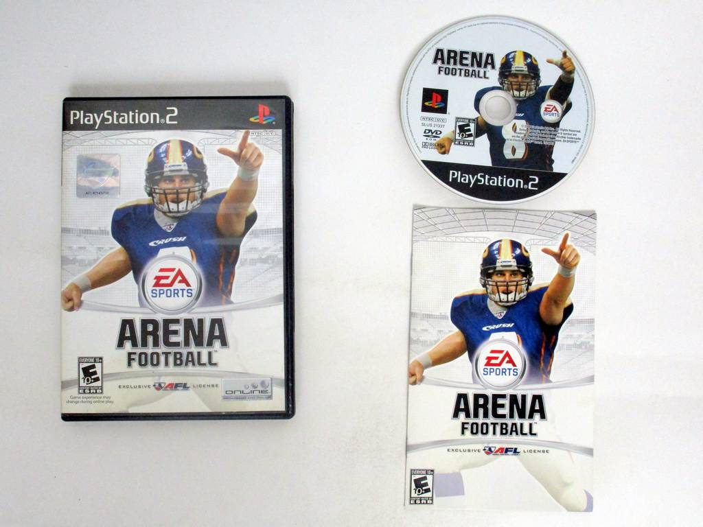 Arena Football game for Sony PlayStation 2 -Complete