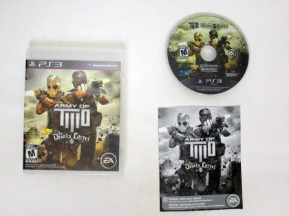 Army of Two: The Devils Cartel game for Sony PlayStation 3 -Complete