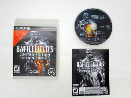 Battlefield 3 Limited Edition game for Sony PlayStation 3 -Complete