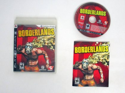 Borderlands game for Sony PlayStation 3 -Complete