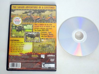 Cabela's African Safari game for Sony PlayStation 2 | The Game Guy