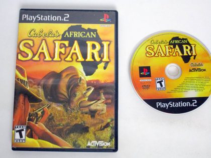 Cabela's African Safari game for Sony PlayStation 2 -Game & Case
