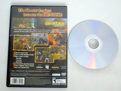 Cabela's Dangerous Hunts game for Sony PlayStation 2   The Game Guy