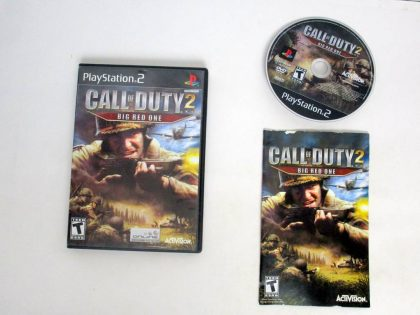 Call of Duty 2 Big Red One game for Sony PlayStation 2 -Complete
