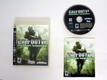 Call of Duty 4 Modern Warfare game for Sony PlayStation 3 -Complete