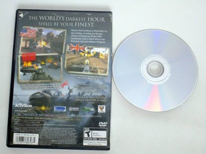 Call of Duty Finest Hour game for Sony PlayStation 2   The Game Guy