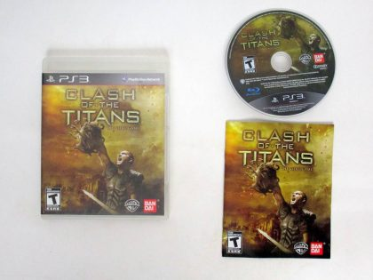 Clash of the Titans game for Sony PlayStation 3 -Complete
