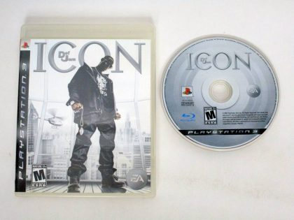 Def Jam Icon game for Sony PlayStation 3 -Game & Case