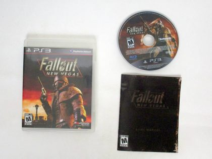 Fallout: New Vegas game for Sony PlayStation 3 -Complete