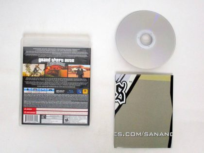 Grand Theft Auto San Andreas game for Sony PlayStation 3 | The Game Guy