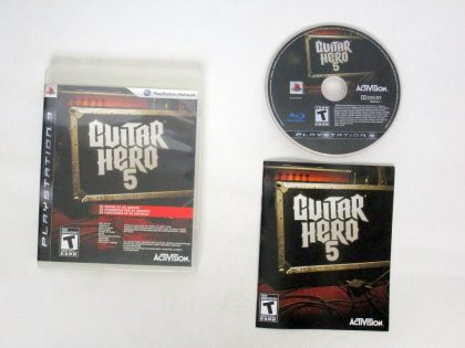 Guitar Hero 5 game for Sony PlayStation 3 -Complete